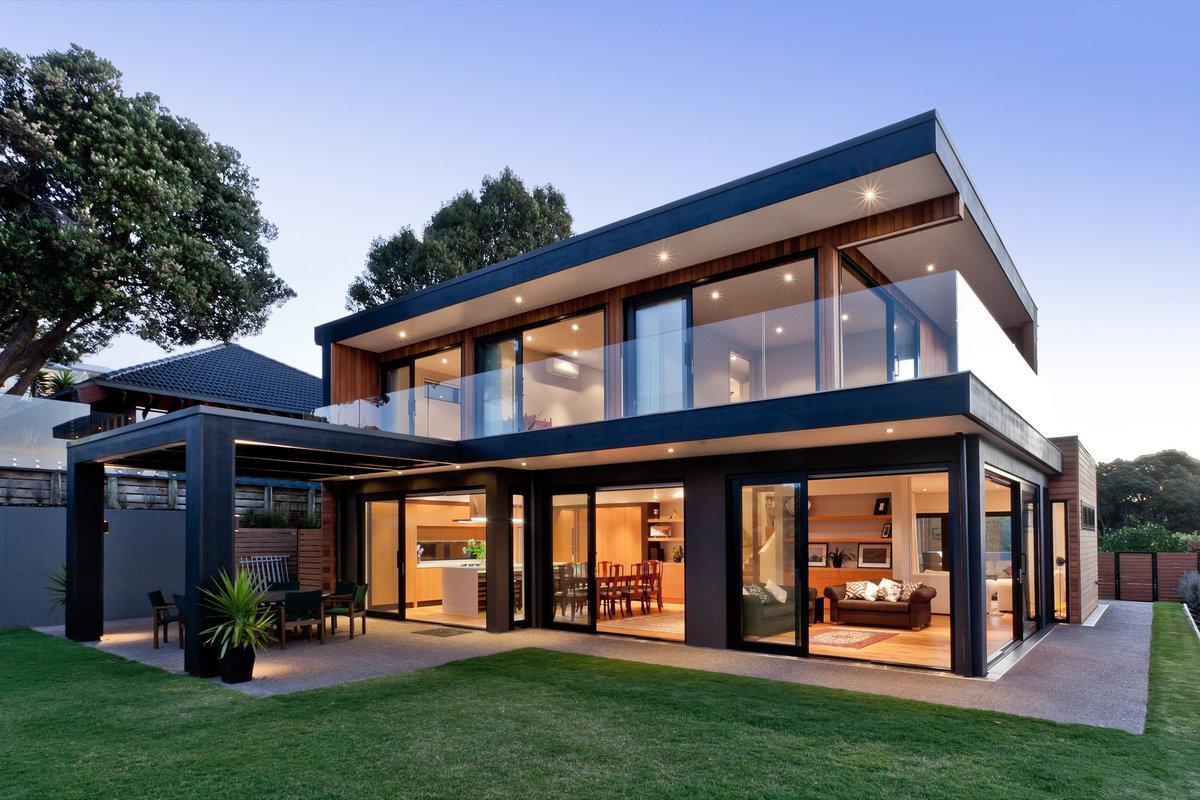 современный готовый дом фото могут